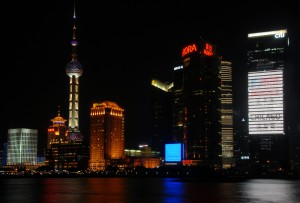 Bund at Night, Shanghai