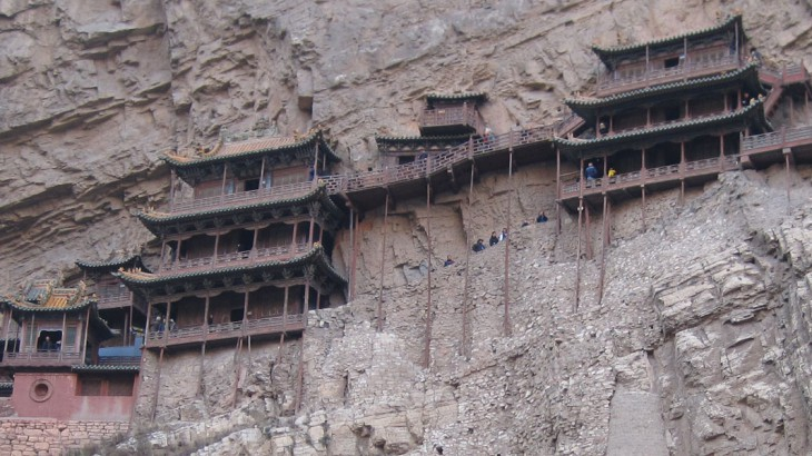 hanging temple, shanxi