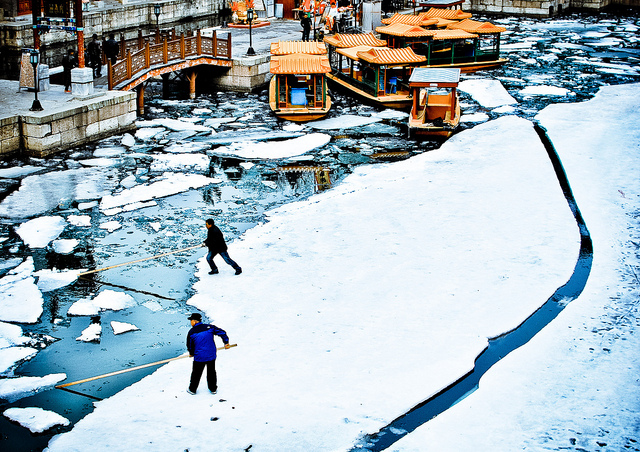 The Ice Movers of Suzhou Street