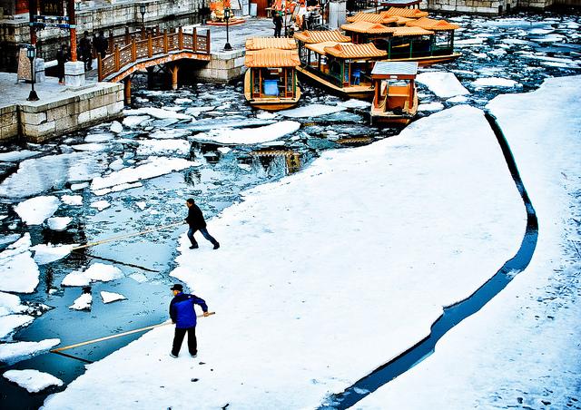 The Ice Movers of Suzhou Street