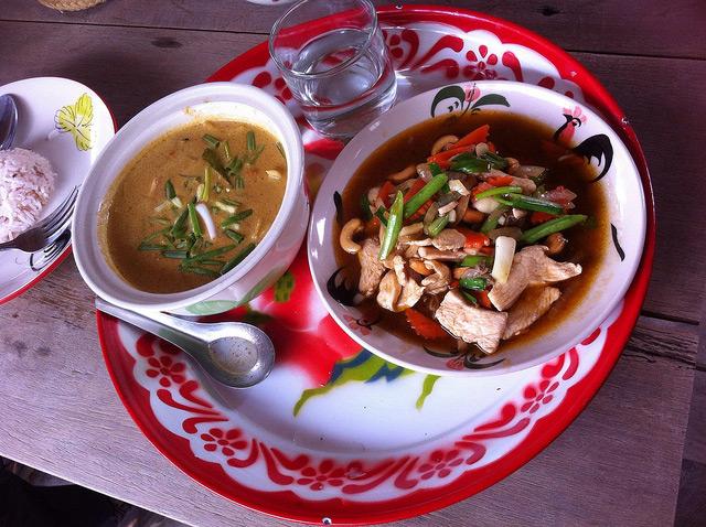 thai chicken saute