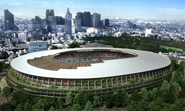 Photograph: Japan Sport Council/EPA