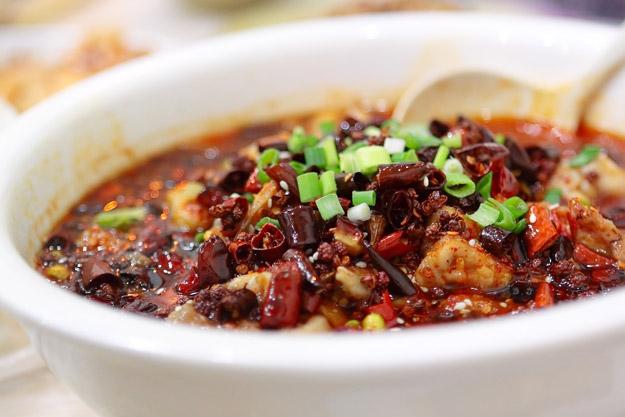 sichuan chilli tofu