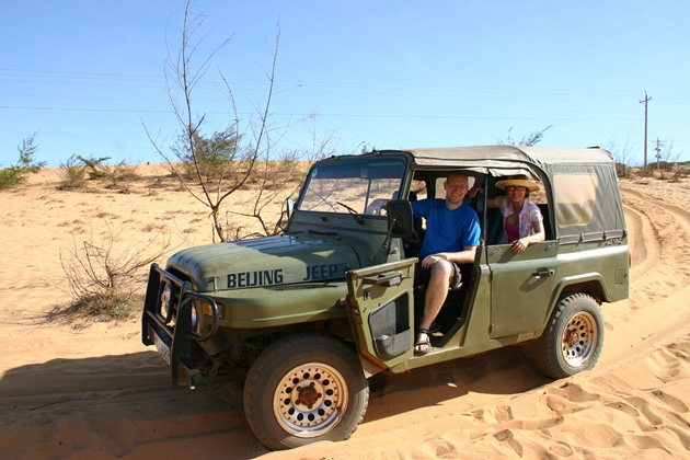 Jeep tours in Mui Ne are popular