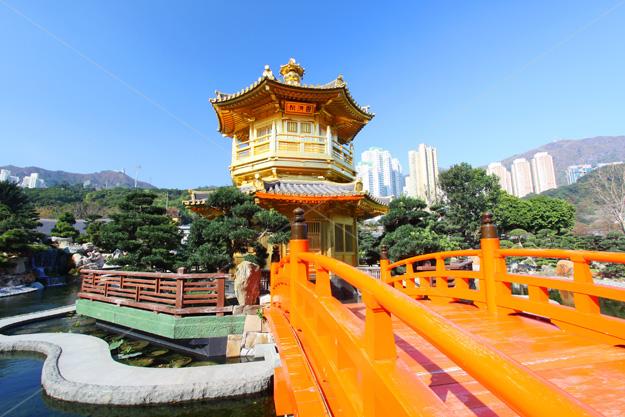 hong kong chinese garden