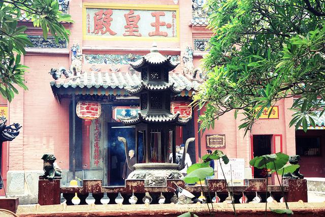 Jade Emperor Pagoda in Vietnam