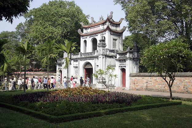 Temple of Literature in Vietnam