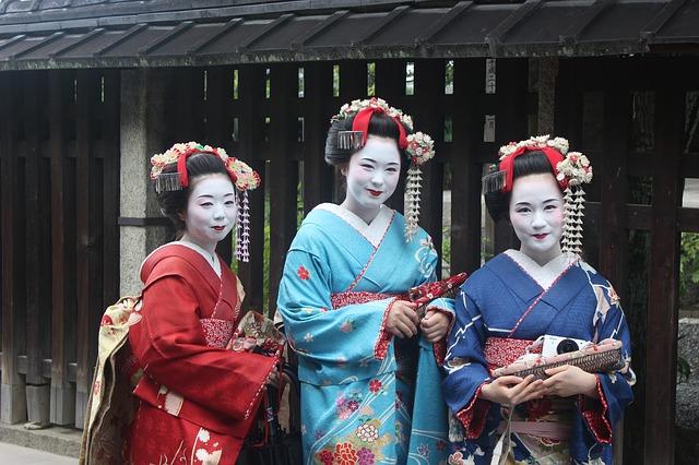 Geisha Japanese Kimono