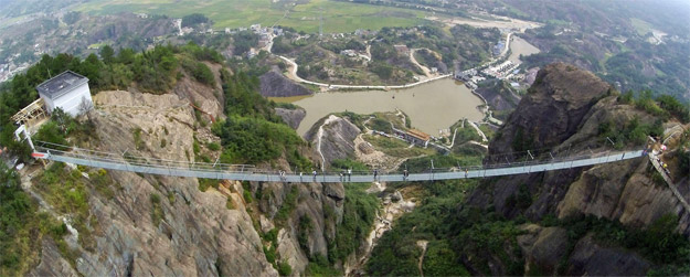 hunan's glass bridge