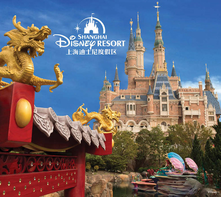 shanghai disneyland now open