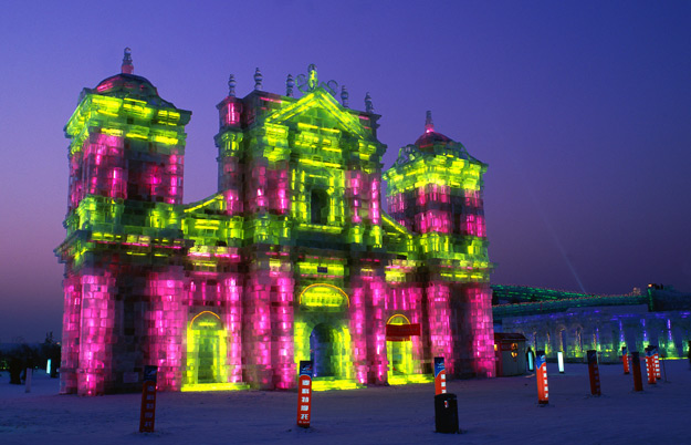 harbin ice snow festival, china