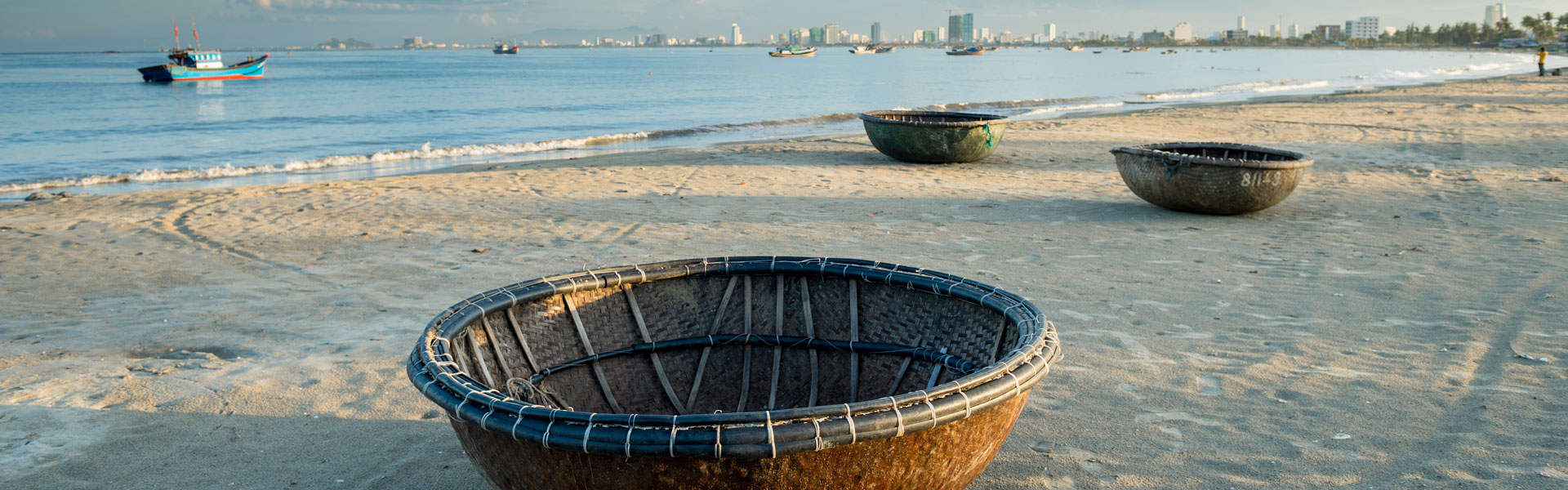 Traditional Basket Boats of Vietnam | Wendy Wu Tours Blog