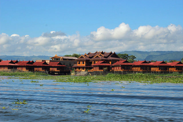 view on inle lake