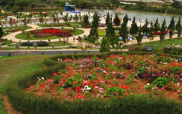 da lat flower garden