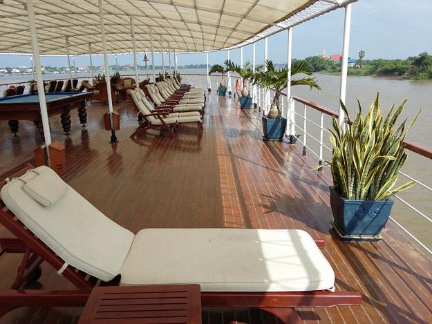 on board pandaw cruise ship
