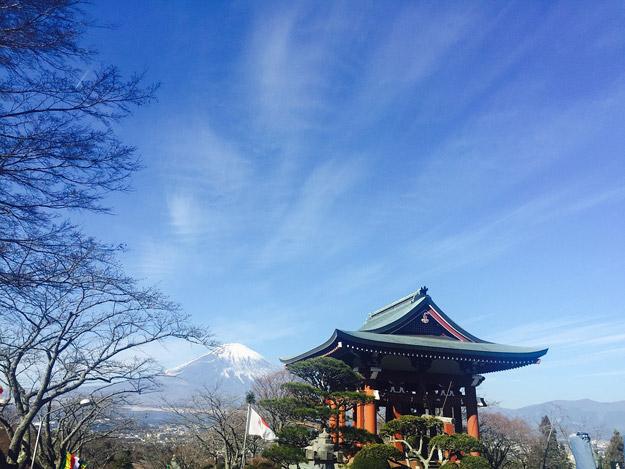 Mount Fuji's religious significance