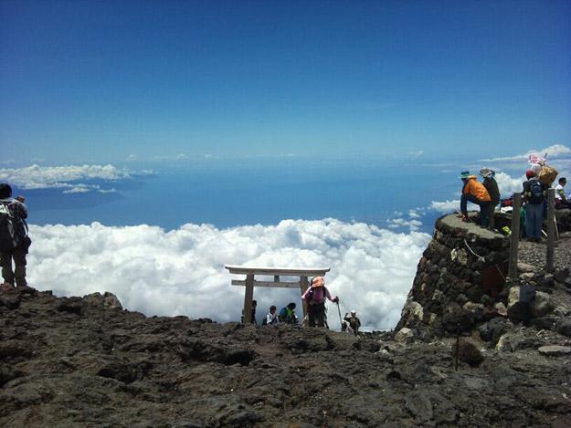 Moutn Fuji summit