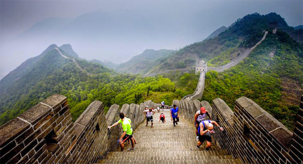 end of the great wall marathon