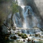 Photographed by Peter Jackson in Laos at the Kuang Si Waterfalls