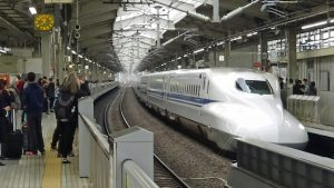 Bullet train to Kyoto