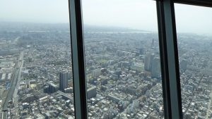 The view from the Skytree