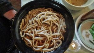 soba lunch!