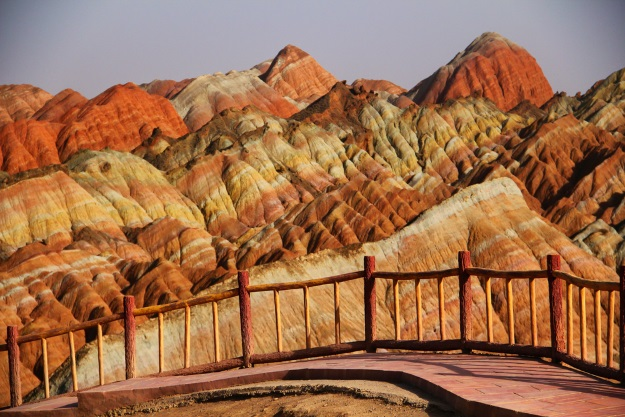 Best in Asia, Zhangye Danxia Geopark, Gansu China