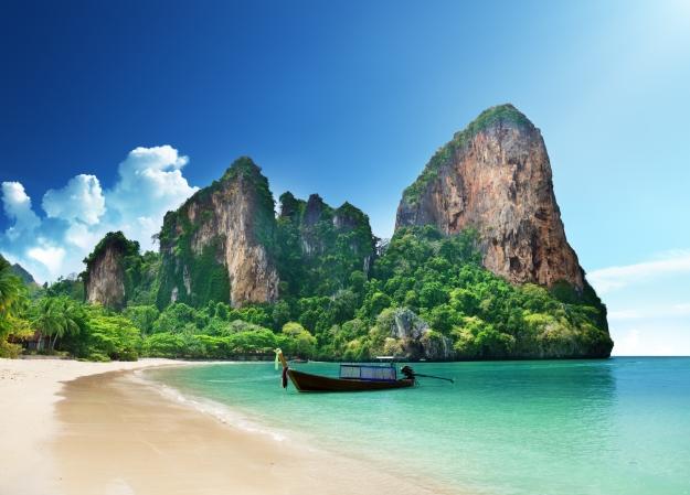 Beautiful beach Thailand