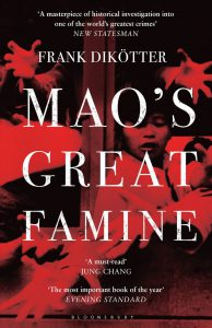 Mao's Great Famine book cover