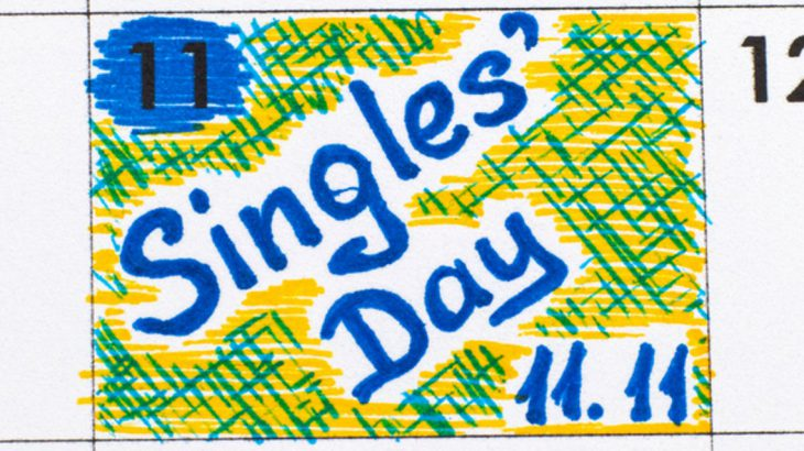 Single's day calender