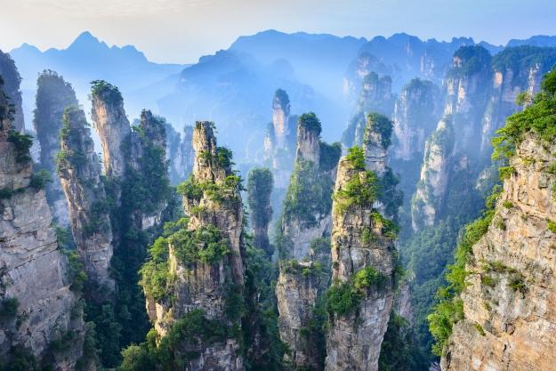 Pillars of Zhangjiajie