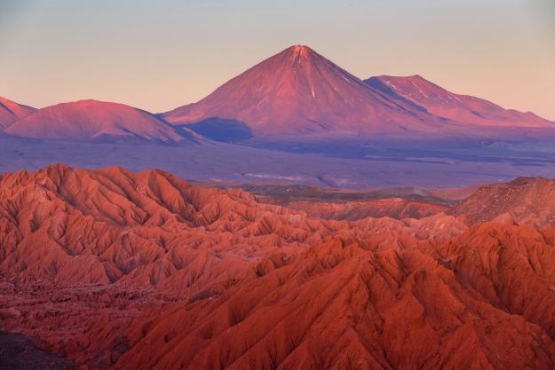 The moon-like landscapes of the Atacama