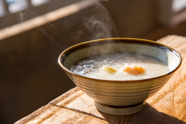 Congee rice porridge