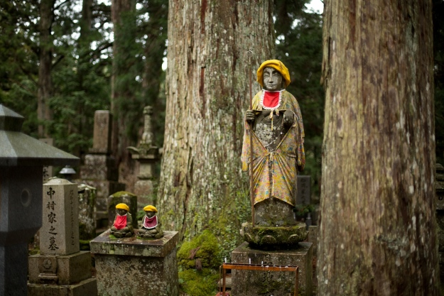 Okunoin Cemetery in Japan