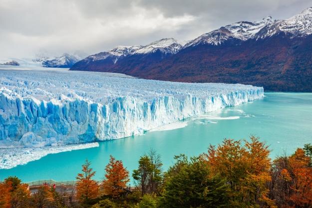 The magnificent Perito Moreno Glacier