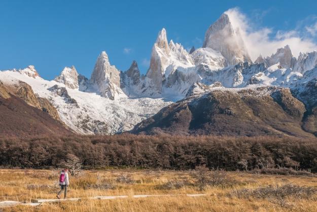 Walking through Patagonia