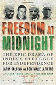 Freedom at Midnight book cover