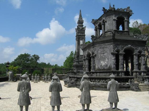 Khai Dinh Tomb in Vietnam