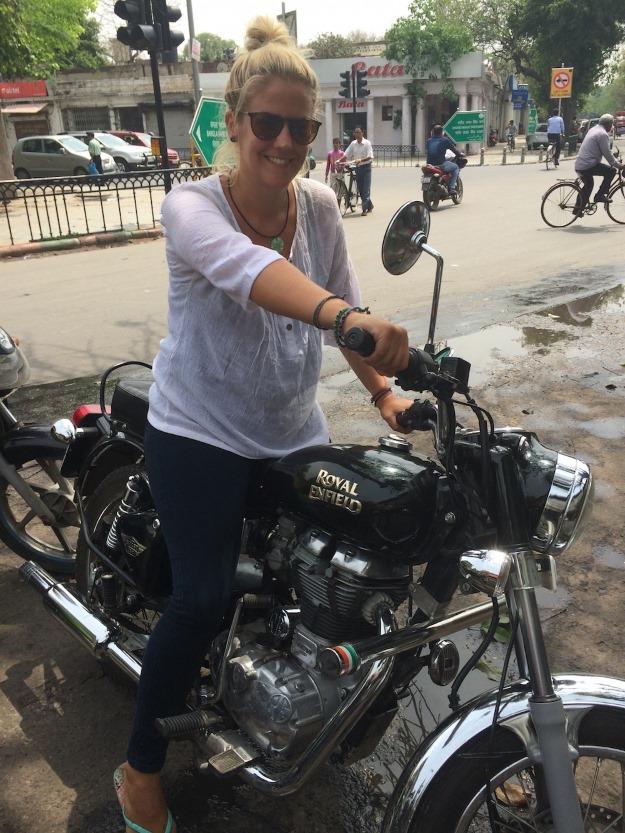 Motorbike in Delhi