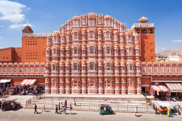 Hawa Mahal palace in Jaipur India