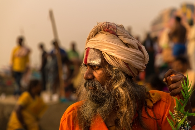The people of Varanasi India