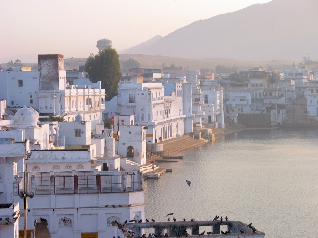 The holy town of Pushkar India