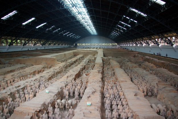 The Terracotta Warriors in Xi'an