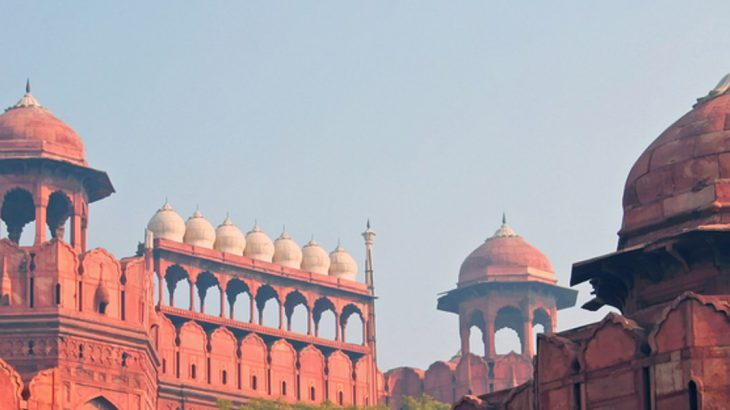 Red Fort in Delhi India