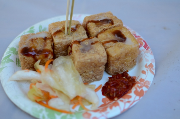 Fermented or 'stinky' tofu
