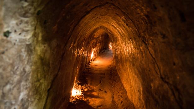 Cu Chi Tunnels, Saigon
