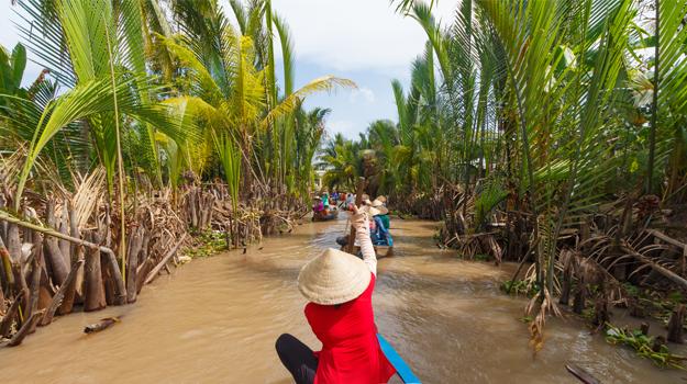 Mekong Delta sampan