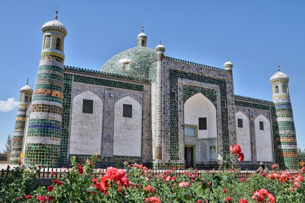 Old mosque in Kashgar