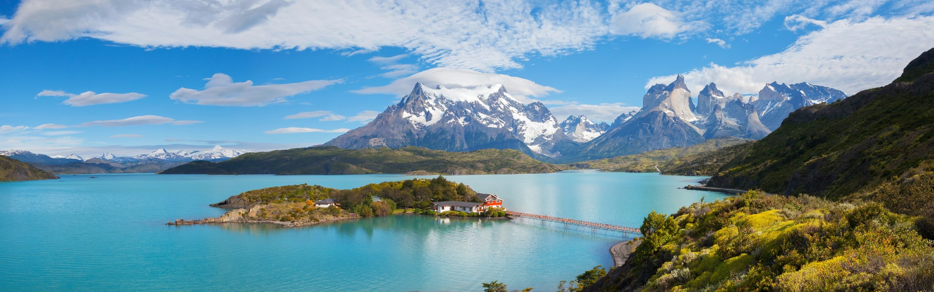 Views over Chile's Torres Del Paine