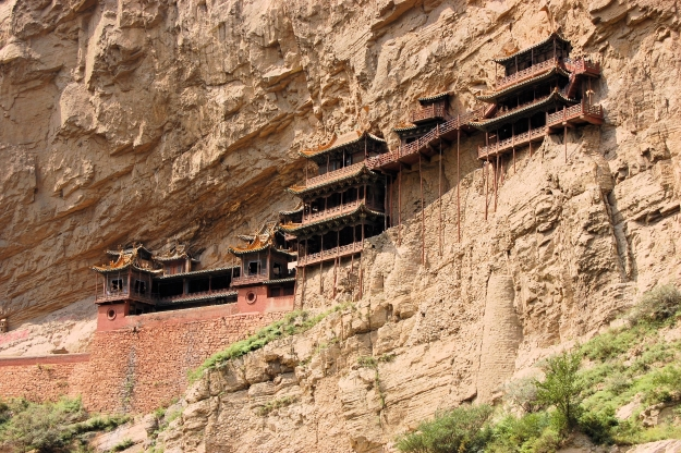The ancient Hanging Temple at Datong